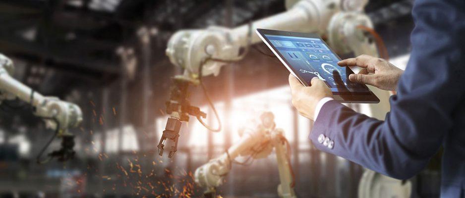 In der Zukunft der Arbeit wird Technik immer mehr zum Kollegen