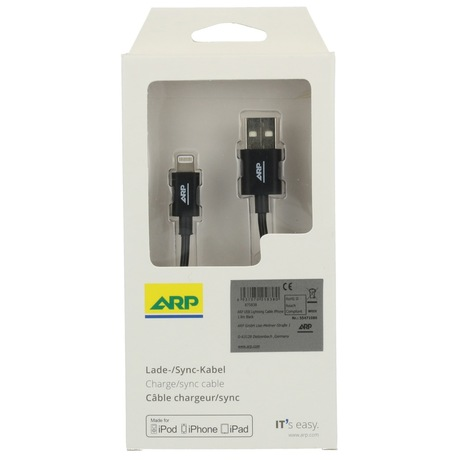 ARP USB Lightning Kabel iPhone 1,8 m S