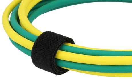 klett kabelbinder rolle 25000 mm schwarz kabel arp. Black Bedroom Furniture Sets. Home Design Ideas