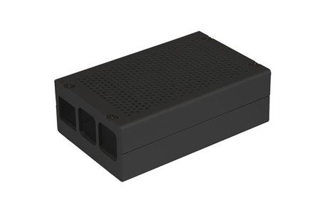 Raspberry Pi 2/3/B+ Alu Enclosure Black
