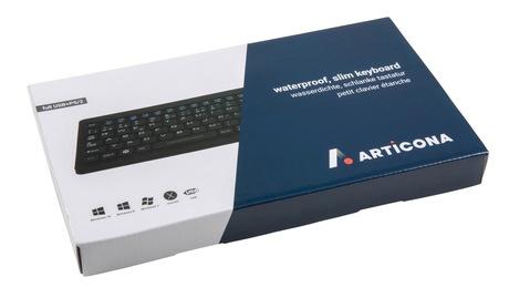 ARTICONA Slim Tastatur USB+PS/2