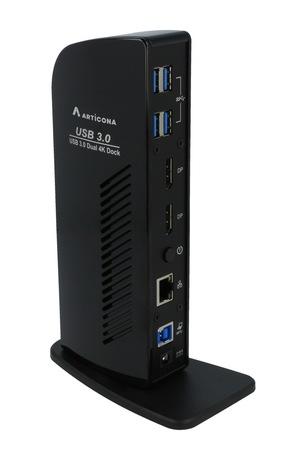 ARTICONA USB 3.0 Docking, Dual DP/4k